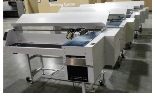 Bell & Howell On-Edge Conveyor